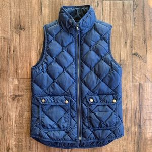 J Crew Quilted Puffer